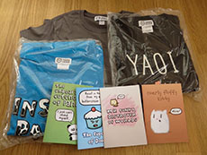 T-Shirt and Notebook Set